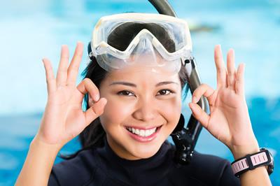 ダイビングのライセンスを取得