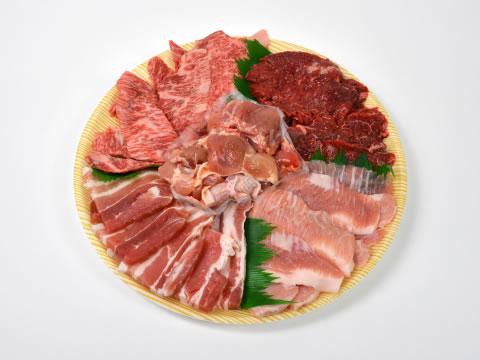 お肉のある食卓